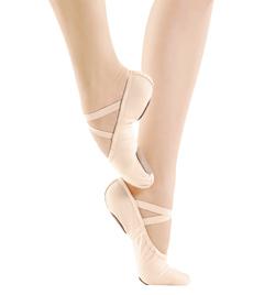 Child Canvas Split-Sole Ballet Slipper - Style No SD11C