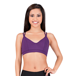 Adult Racer Back Camisole Bra Top - Style No SIL87179