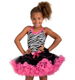 Child Tank Tutu Dress - Style No SK663