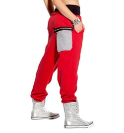 Girls Harlem Hip Hop Pants - Style No SS8050C