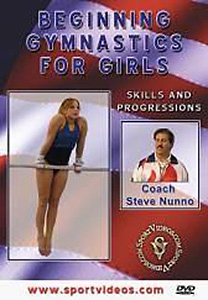 Beginning Gymnastics for Girls DVD - Style No SVGYMDVD1