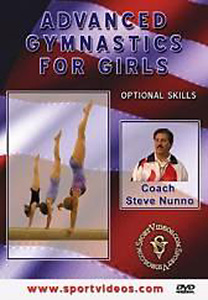 Advanced Gymnastics for Girls: Optional Skills DVD - Style No SVGYMDVD3