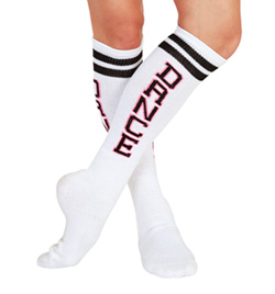 """DANCE"" Tube Socks - Style No T1418"