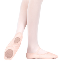 Adult Canvas Split-Sole Ballet Slipper - Style No T2900