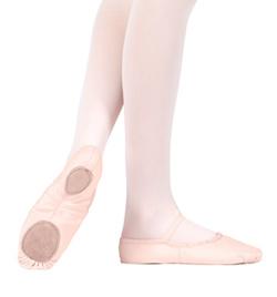 Adult Canvas Split-Sole Ballet Shoe - Style No T2900