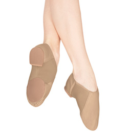 Adult Elastic Gore Slip On Jazz Boot - Style No T7802