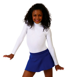 Child Turtleneck Long Sleeve Leotard With Snaps - Style No TB123C