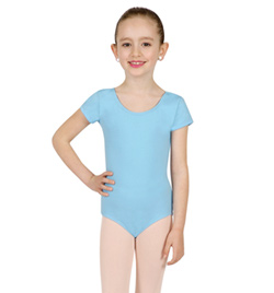Girls Economy Short Sleeve Leotard - Style No TB132C