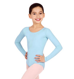 Child Basic Long Sleeve Leotard - Style No TB134C