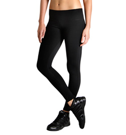 """Studio Active"" Cotton Spandex Full Length Wide Band Leggings - Style No TCO1545CT"