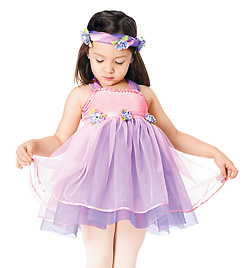 Secret Garden Child Halter Dress - Style No TH1025C