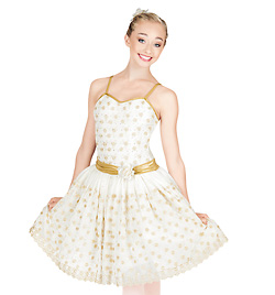 """Fields of Gold"" Adult Romantic Tutu Dress - Style No TH4003"