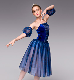 """Twilight"" Adult Romantic Tutu Dress - Style No TH4007"