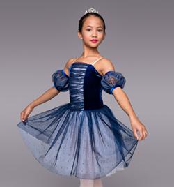 """Twilight"" Child Romantic Tutu Dress - Style No TH4007C"