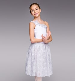 "Girls ""Snow Queen"" Romantic Tutu Dress - Style No TH4013C"