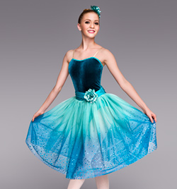 """Reflections"" Adult Romantic Tutu Dress - Style No TH4016"