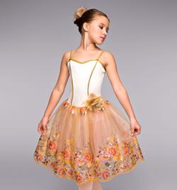 """Autumn"" Girls Romantic Tutu Dress - Style No TH4017C"