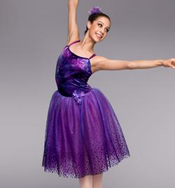 """Purple Mist"" Adult Romantic Tutu Dress - Style No TH4018"