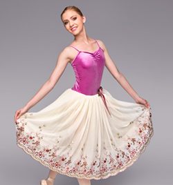 """My Romance"" Adult Romantic Tutu Dress - Style No TH4023"
