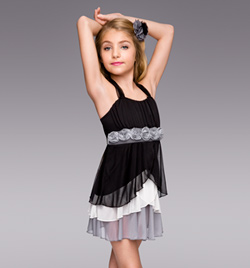 """Gravity"" Girls Lyrical Dress - Style No TH4028C"