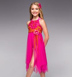 """I Was Here"" Girls Lyrical Dress - Style No TH4032C"