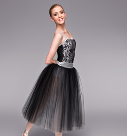 """Midnight In Paris"" Adult Romantic Tutu Dress - Style No TH4035"