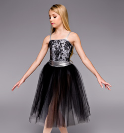 """Midnight In Paris"" Girls Romantic Tutu Dress - Style No TH4035C"