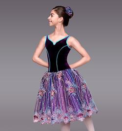 """Mystique"" Girls Romantic Tutu Dress - Style No TH4038C"