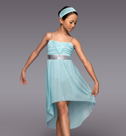 """""""Only Hope"""" Child Lyrical Dress - Style No TH4065C"""