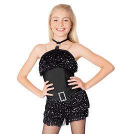 """Le Jazz Hot"" Child Shorty Unitard - Style No TH5003Cx"