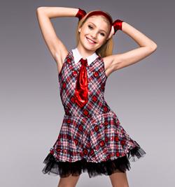 """School Daze"" Child Tank Dress - Style No TH5010C"