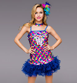 """Funkytown"" Adult Sequin Dress - Style No TH5016"