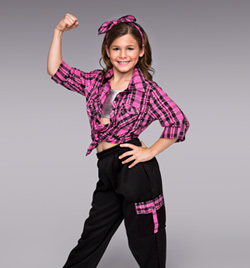 """Freestyle Crew"" Girls Costume Set - Style No TH5023C"