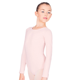 Child Long Sleeve Cotton Leotard - Style No TH5507C