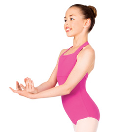 Child Halter Cotton Leotard - Style No TH5508C