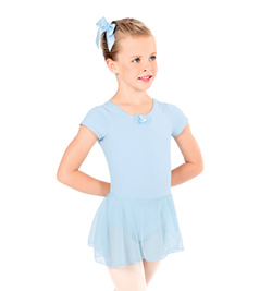 Child Short Sleeve Dance Dress - Style No TH5510C