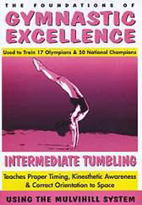 Gymnastic Excellence - Vol. 3: Intermediate Tumbling DVD - Style No TMWK1803DVD