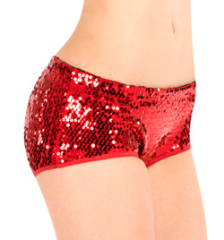 Adult Sequin Hot Dance Short - Style No TT009