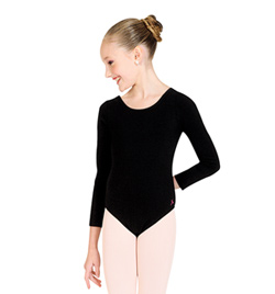 Child Long Sleeve Leotard - Style No U6055CL