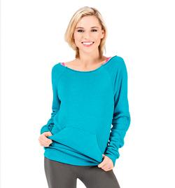 Adult Flash Dance Pocket Sweatshirt - Style No UC1304