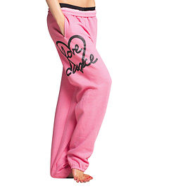 "Adult and Child ""Love Dance"" Heart Sweat Pants - Style No UC3350"