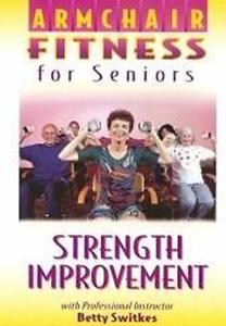 Armchair Fitness For Seniors Strength Improvement Dvd