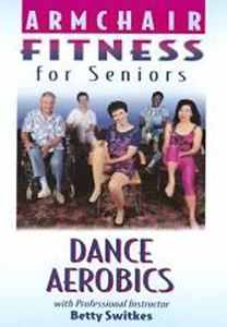 Armchair Fitness for Seniors - Dance Aerobics DVD - Style No VACA3DVD