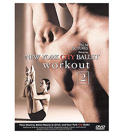 New York City Ballet Workout 2 DVD - Style No VAPALM30612