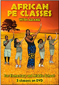 African PE Classes with Adaku DVD - Style No VVCL132DVD