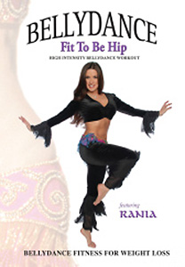 Rania: Fit to be Hip - Bellydance Fitness DVD - Style No VVGUPBAY119