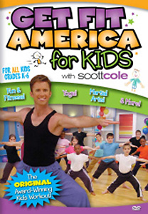 Scott Cole: Get Fit America for Kids Workout DVD - Style No VVGUPBAY125
