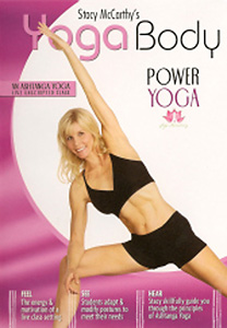Yoga Body: Power Yoga with Stacy McCarthy DVD - Style No VVGUPBAY130