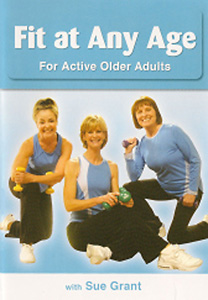 Sue Grant: Fit at Any Age for Older Active Adults DVD - Style No VVGUPBAY136