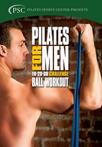 Pilates for Men 3: Challenge Ball Workout DVD - Style No VVGUPBV952